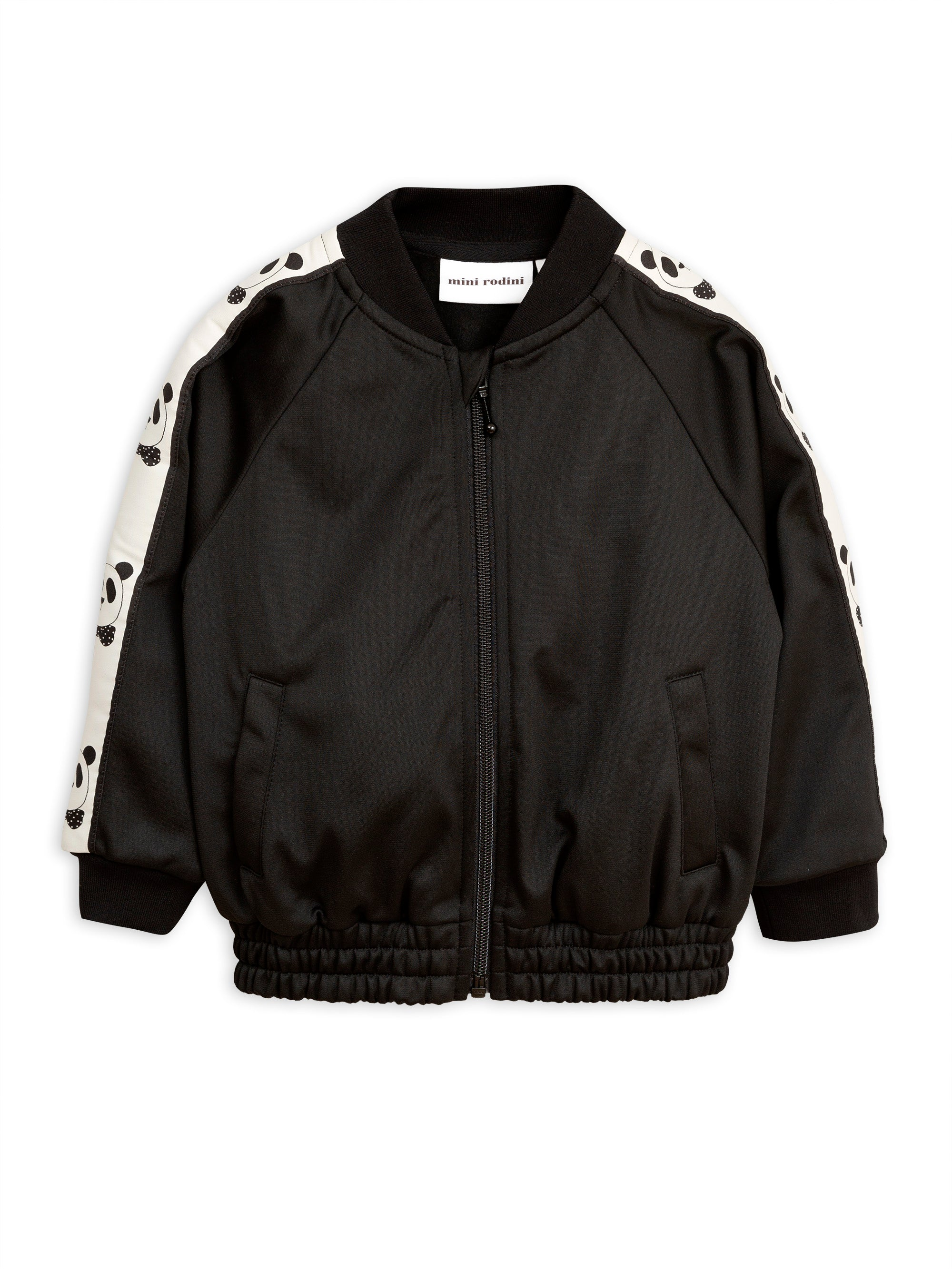 Mini Rodini Panda Jacket - Black