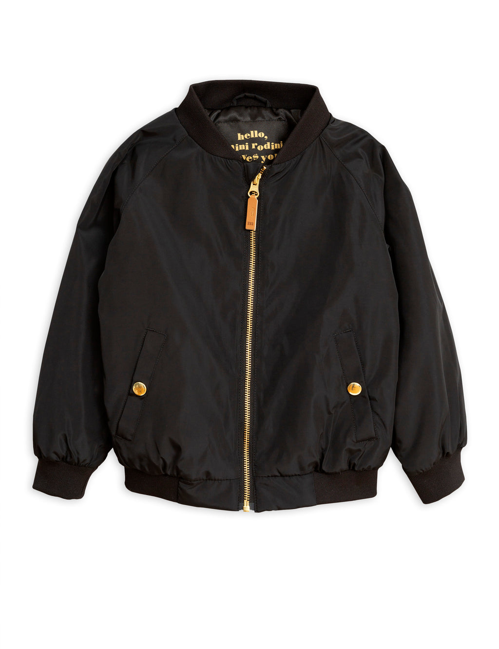 Mini Rodini Pegasus Baseball Jacket - Black