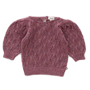 Oeuf Pointelle Top - Mauve