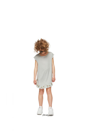 Molo Cia Dress - Grey Sky