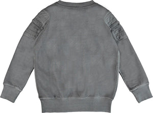 Molo Mozi Pewter Sweater