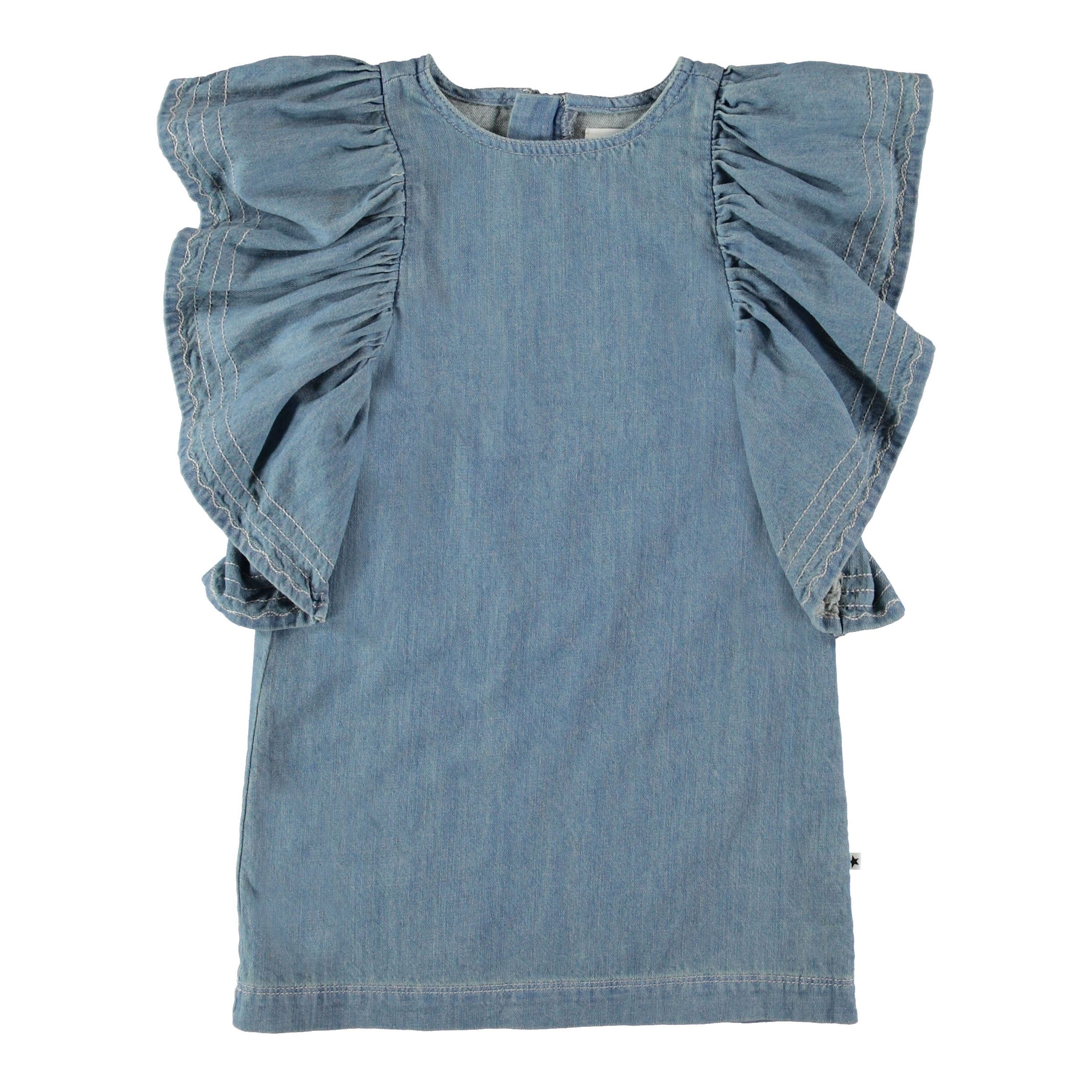 Molo Candis Dress - Washed Denim