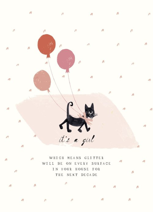 Mr. Boddington's Studio Baby - One Sweet Kitten - Greeting Card
