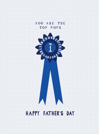 Mr. Boddington's Studio Father Day - Numero Uno - Greeting Card