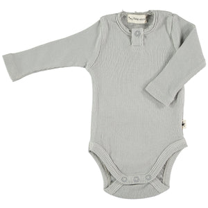 My Little Cozmo Body Organic Rib - Soft Grey