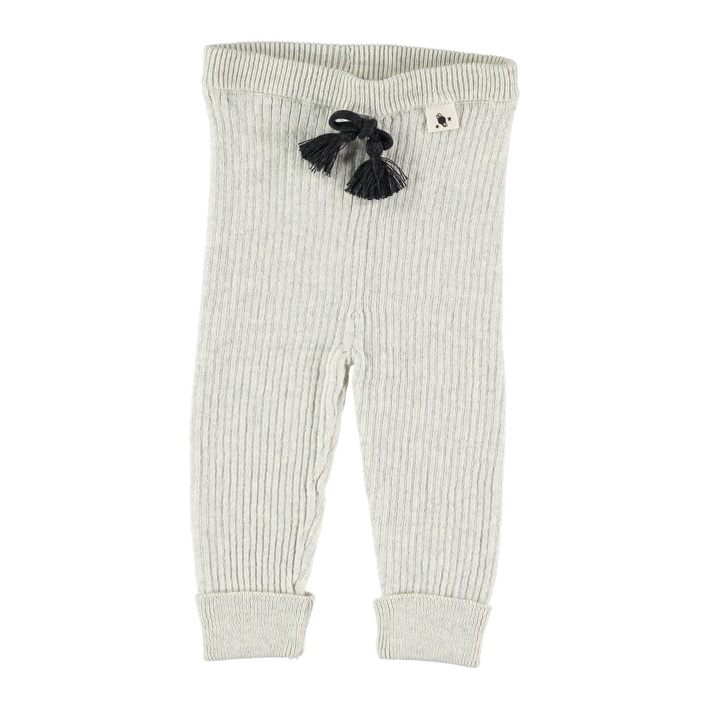 My Little Cozmo Knit Rib Leggings - Ivory