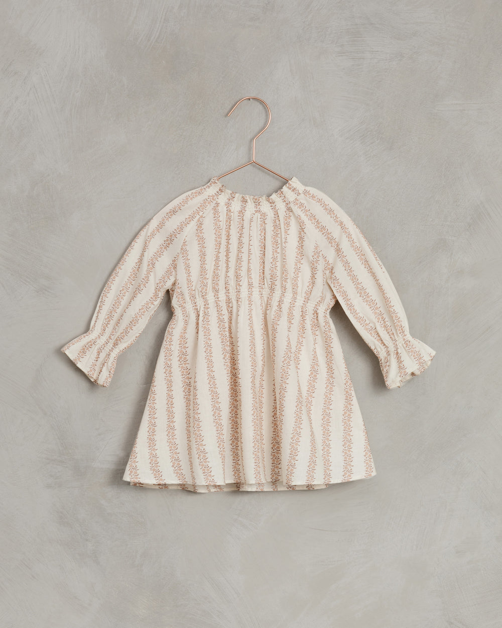 Noralee Rose Striped Chloe Dress - Shell