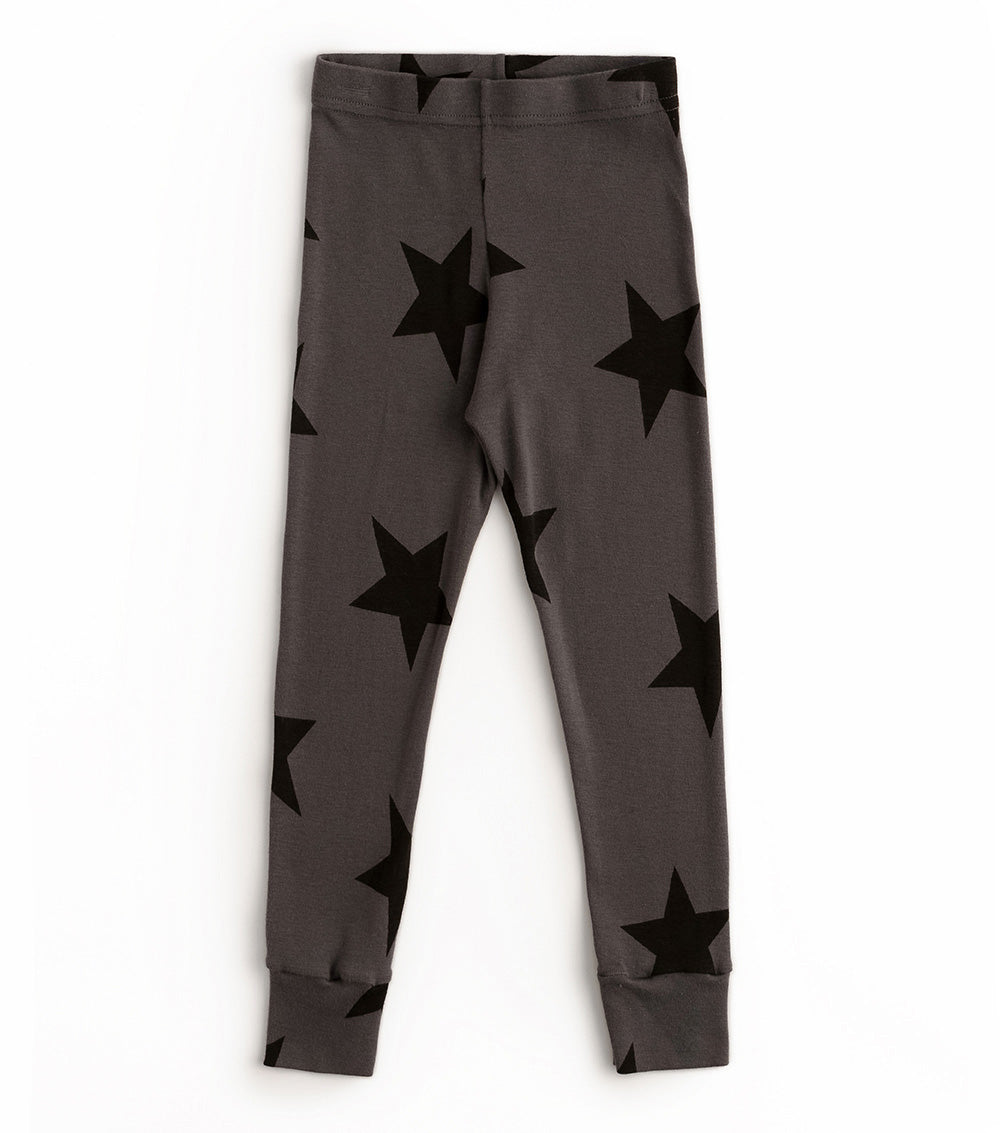 Nununu Star Leggings - Iron