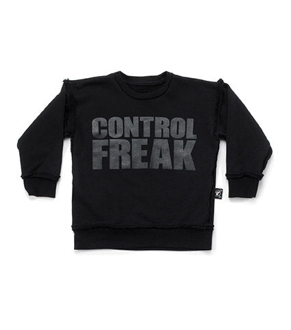 Nununu Control Freak Sweatshirt - Black