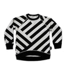 Nununu Black Striped Sweatshirt