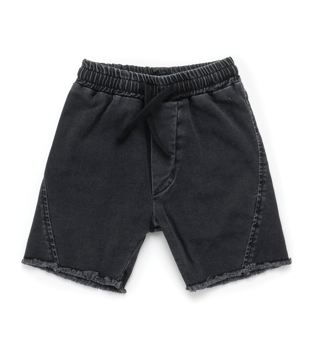 Nununu Side Hem Denim Shorts