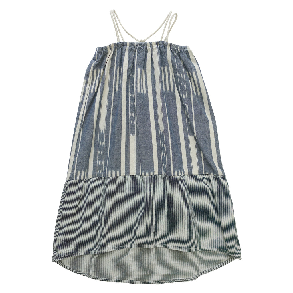 Nico Nico Olga Patchwork Dress - Railroad