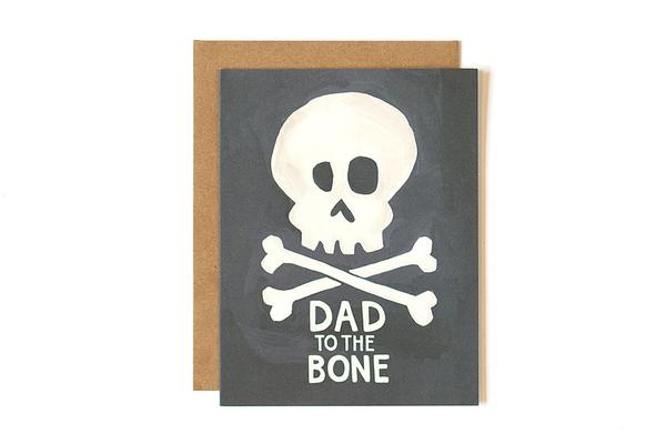 One Canoe Two - Dad to the Bone Card