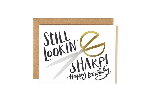 One Canoe Two - Still Sharp Birthday Card