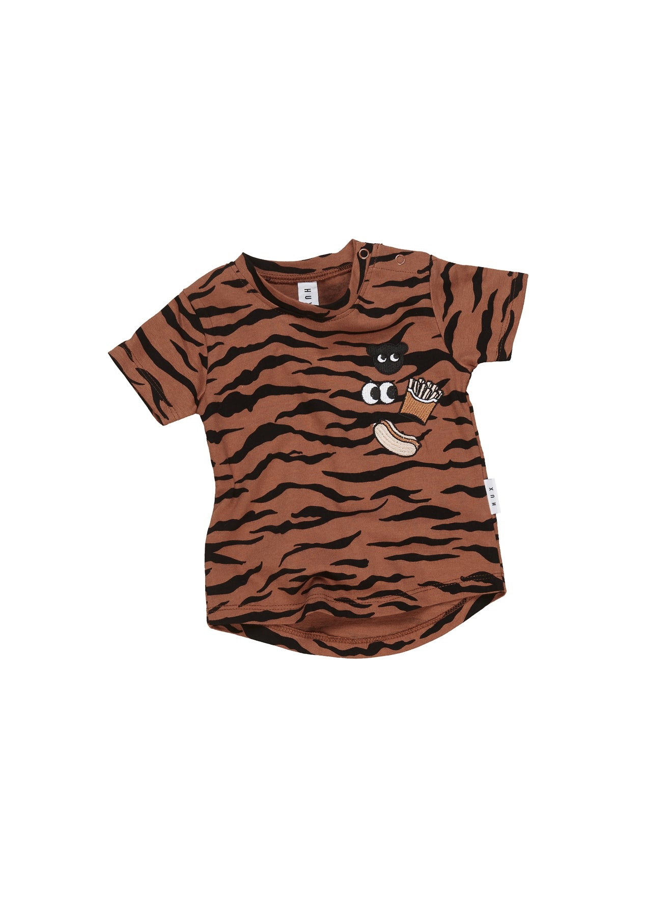 Huxbaby Tiger Patch T shirt