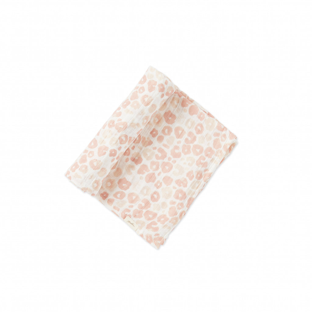 Petit Pehr Swaddle - Poppy Blush