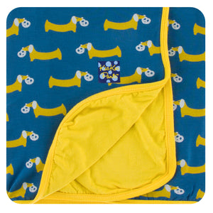 Kickee Pants Toddler Blanket - Twilight Pretzel Pup