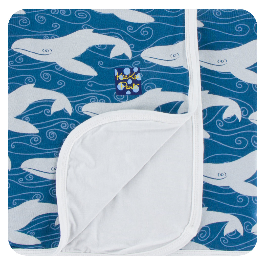 Kickee Pants Toddler Blanket - Twilight Whale