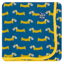 Kickee Pants Twilight Pretzel Pup Swaddle