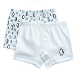 Petidoux Boxer Shorts - Blue Penguins