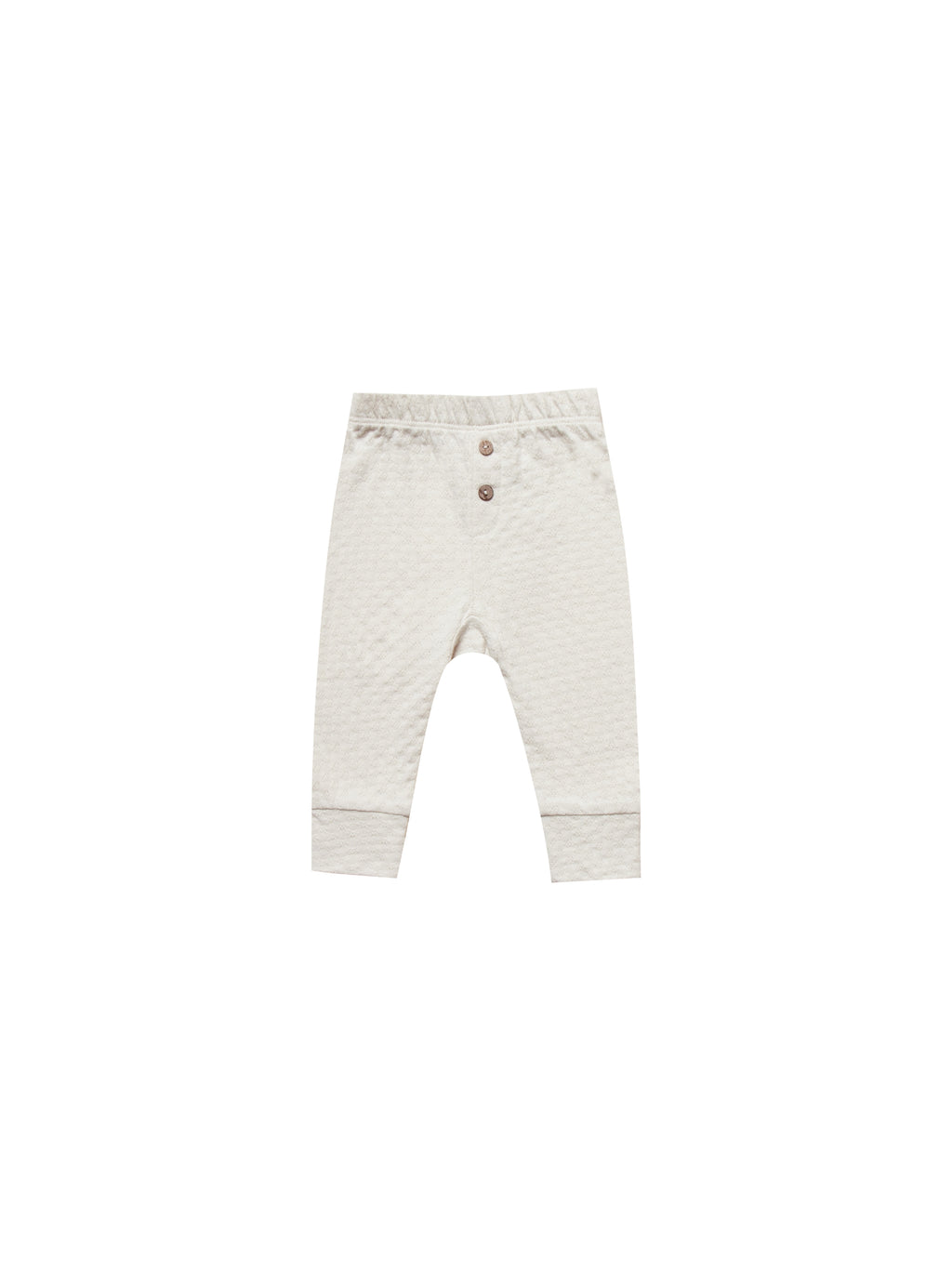 Quincy Mae Pointelle Pant - Pebble