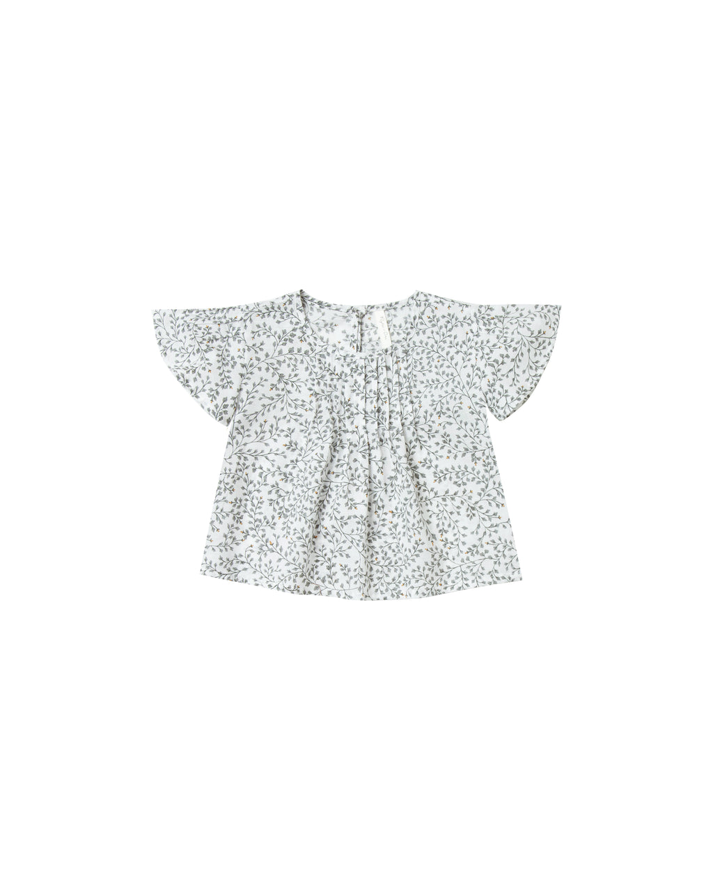 Rylee + Cru Dainty Leaves Blaire Blouse - Ivory