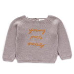 Oeuf Poet Sweater - Light Grey