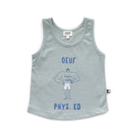 Oeuf  Physical Ed Tank Top - Jadeite