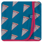 Kickee Pants Swaddling Blanket - Seaport Pizza