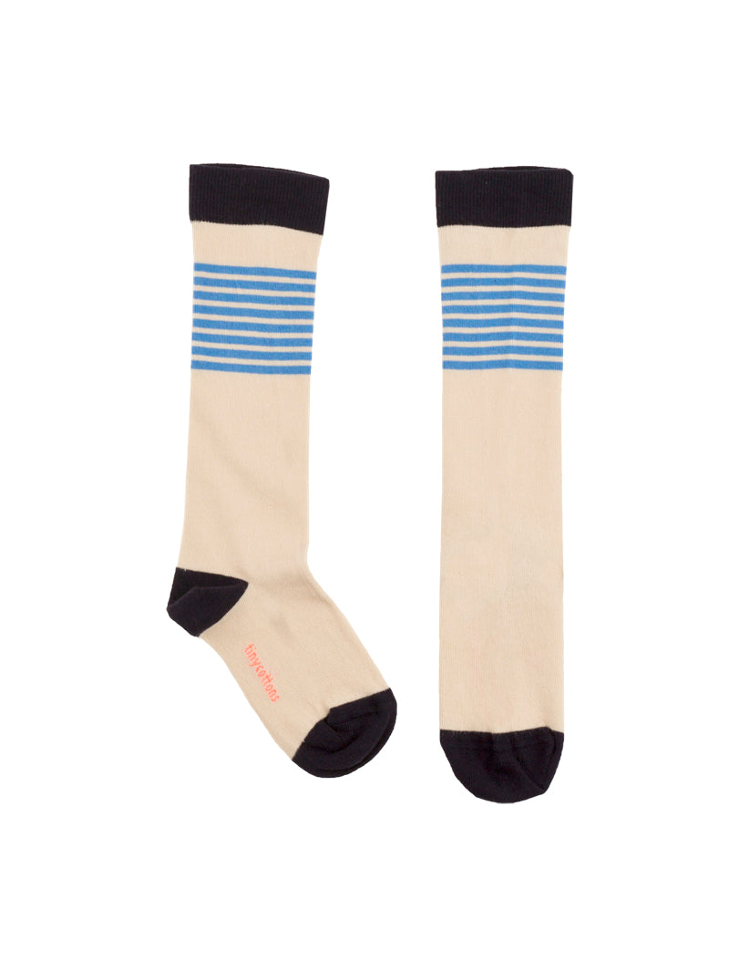 Tiny Cottons Stripes High Socks
