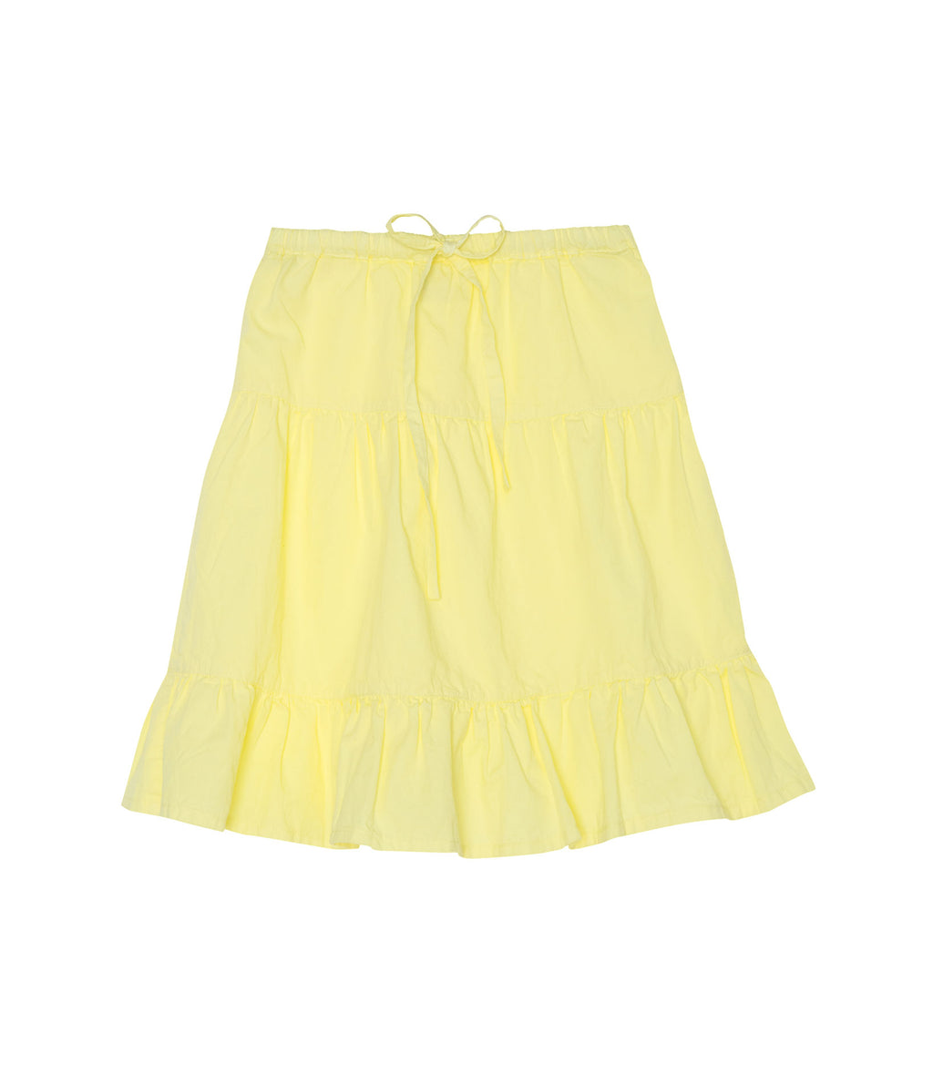 Yellow Pelota Dancer Skirt - Yellow