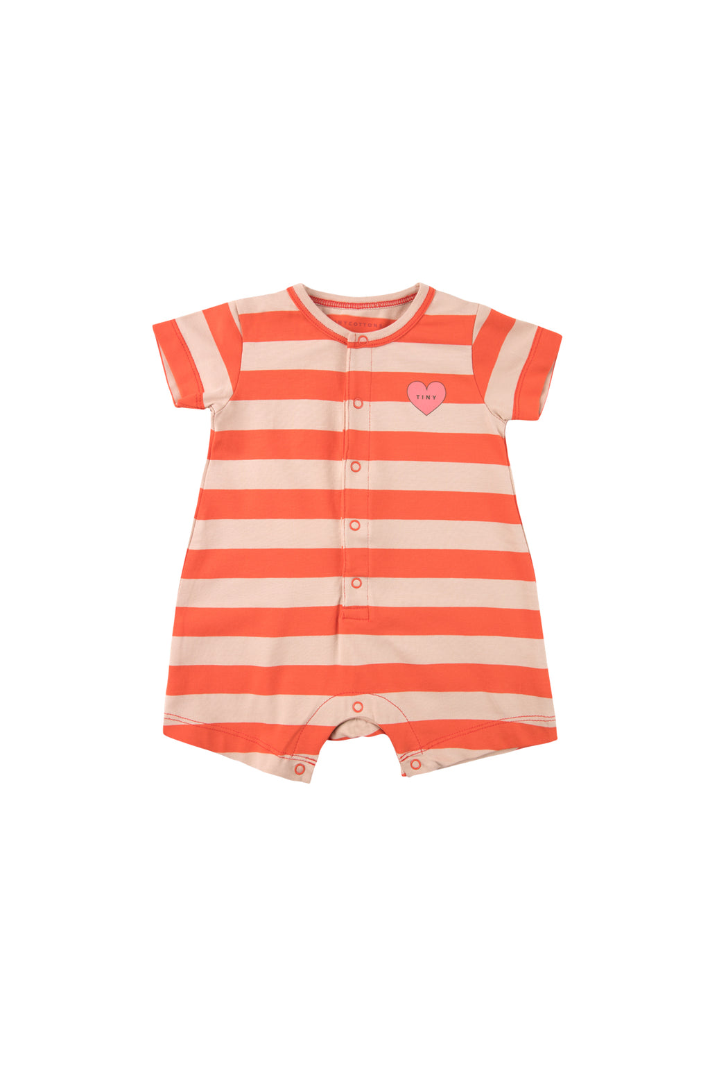 Tiny Cottons Hearts Stripes One Piece