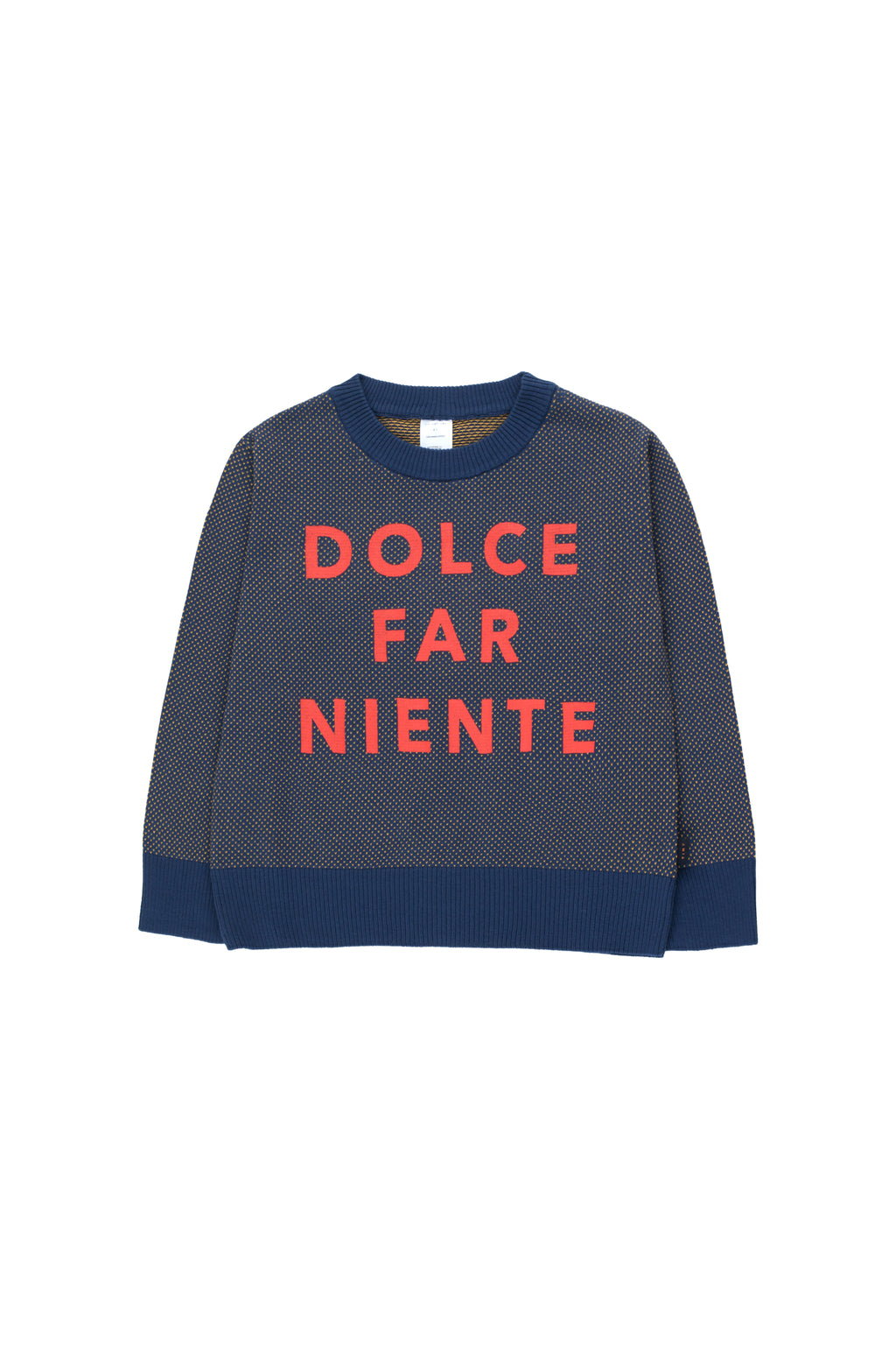 Tiny Cottons Dolce Far Niente Sweater Light Navy/Gold