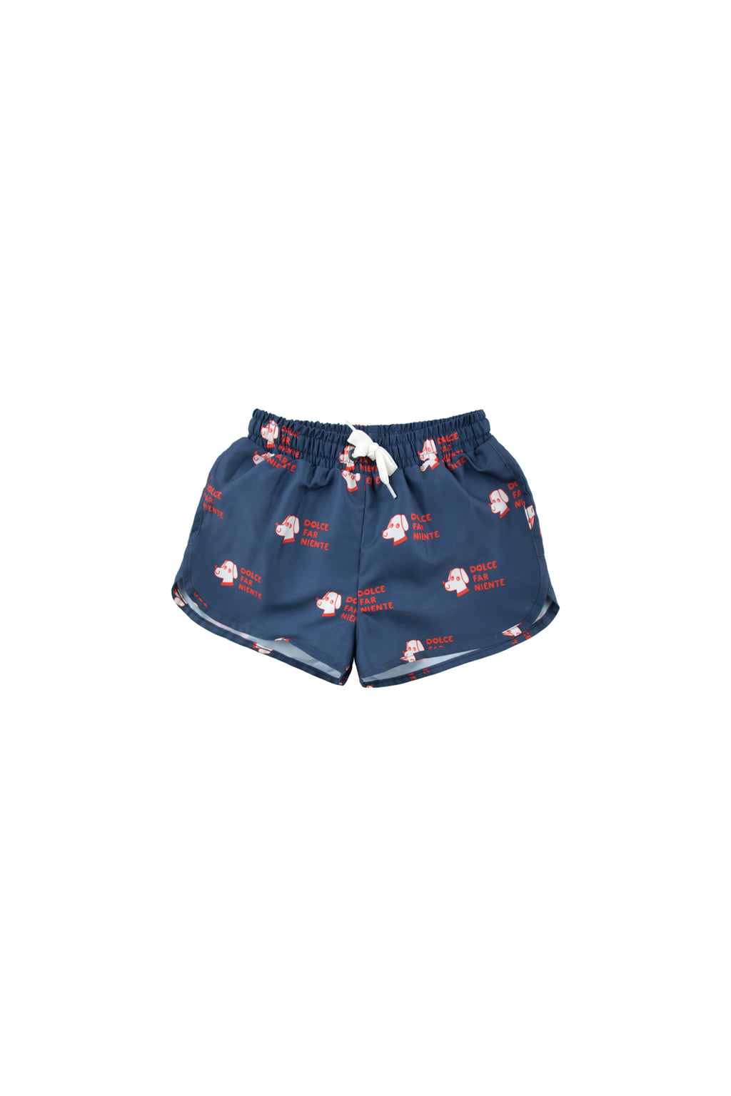 Tiny Cottons Dogs Trunks - Navy/Red