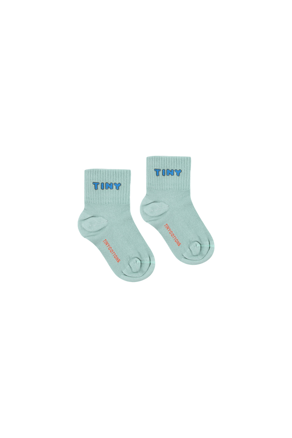 Tiny Cottons Tiny Quarter Socks Sea Green/Cerulean Blue