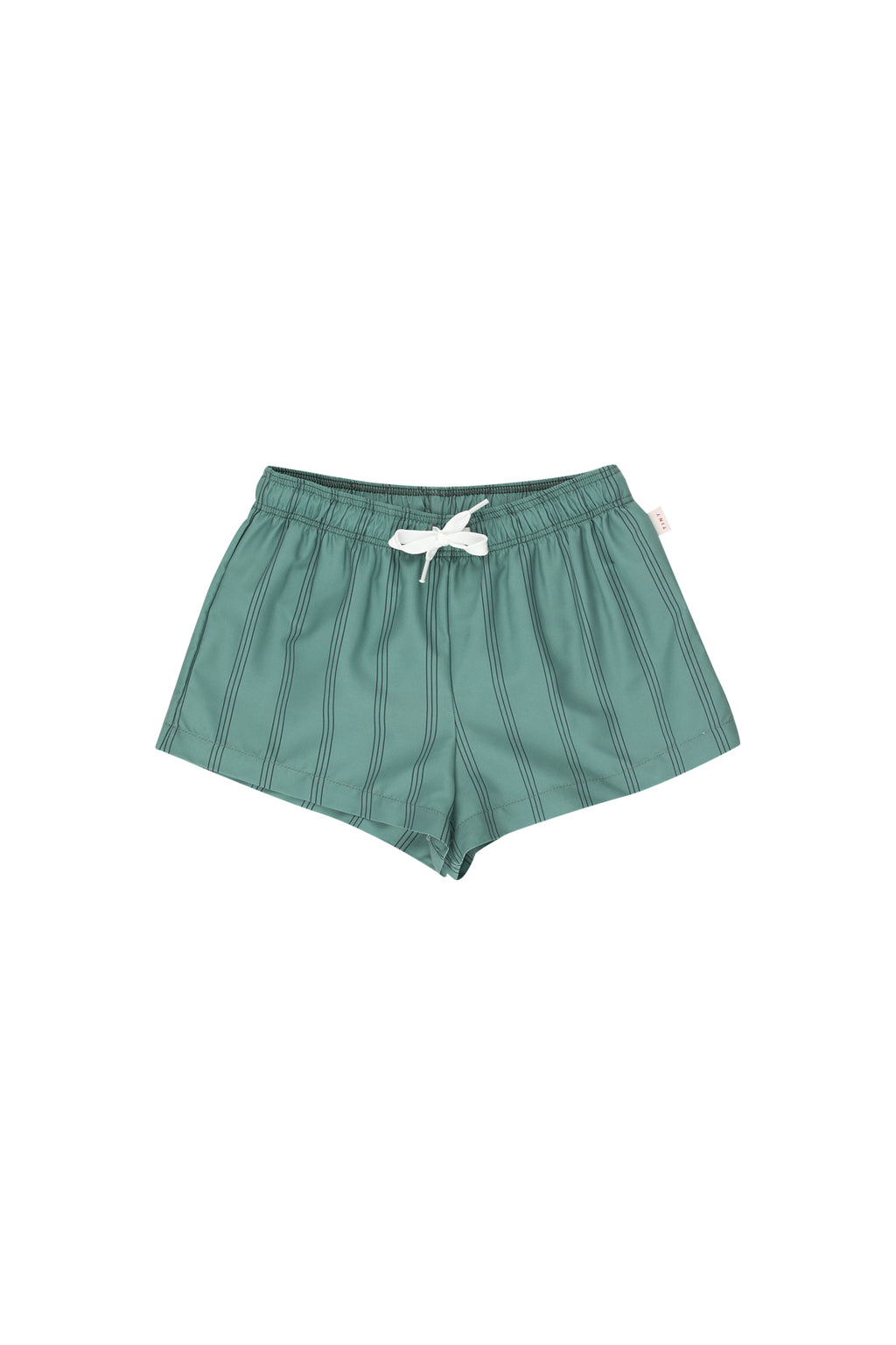 Tiny Cottons Stripes Trunks -Green/Ink Blue