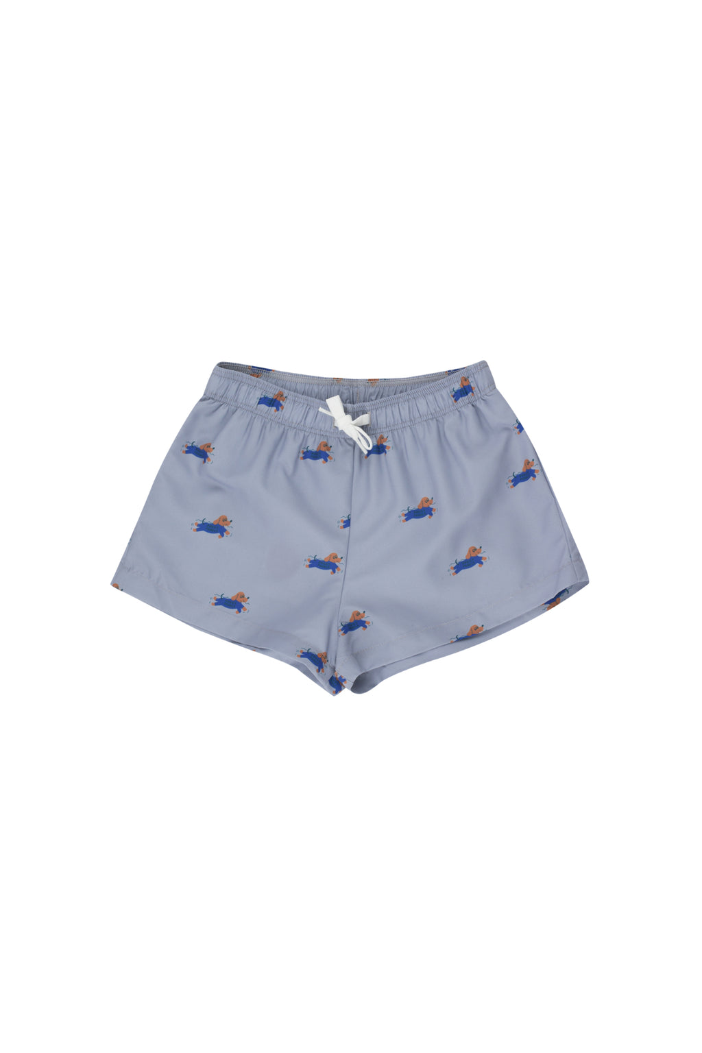 Tiny Cottons Doggy Paddle Trunks - Summer Grey/Iris Blue