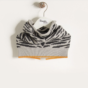 Bonnie Mob Tiger Stripe Snood - Grey