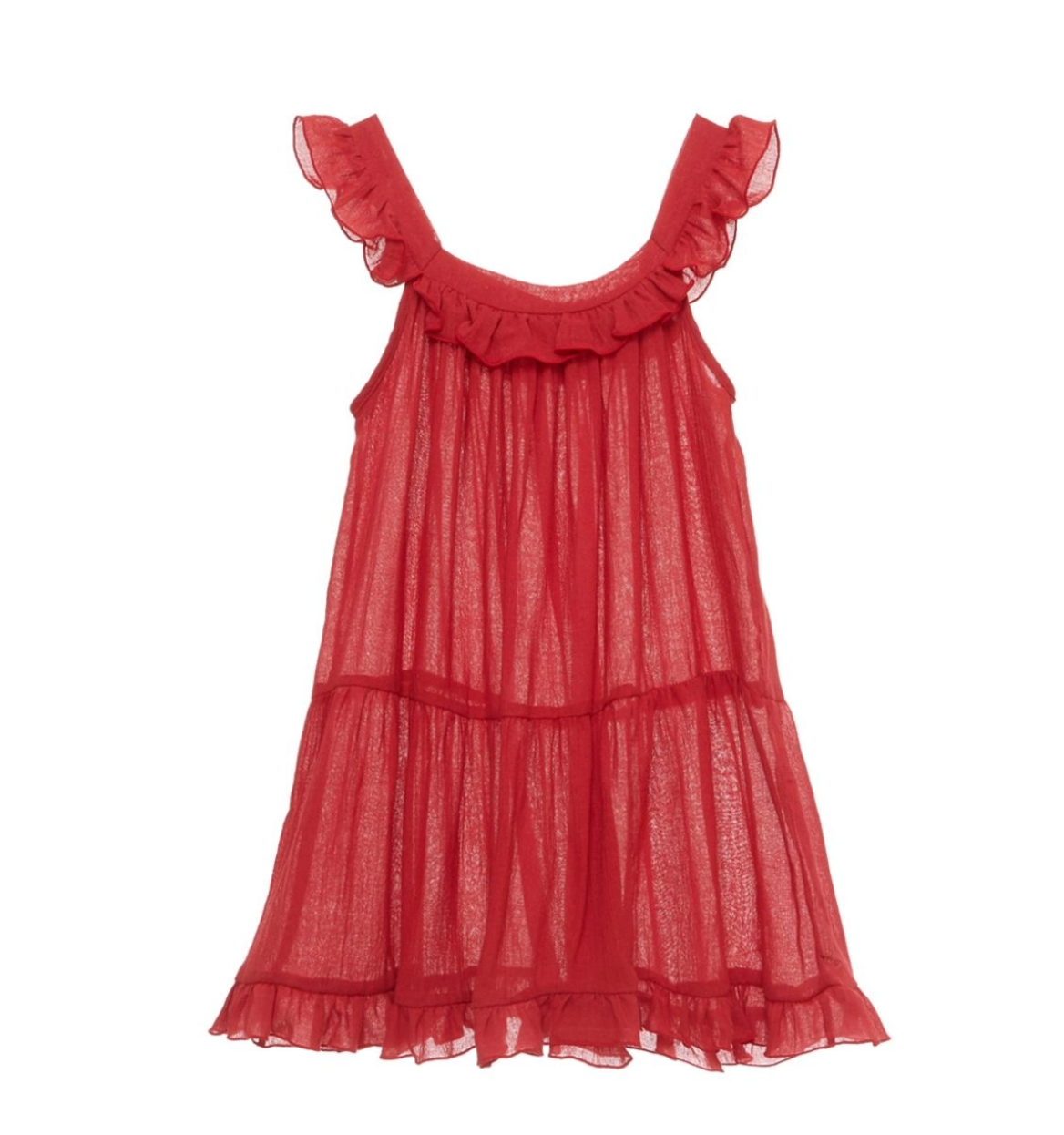 Eberjey Summer of Love Izzy Dress - Chilli Pepper