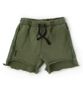 Nununu 2 Lengths Military Shorts - Vintage Olive