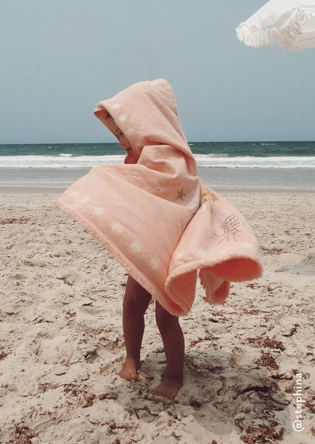 The Beach People Sirene Petit Poncho