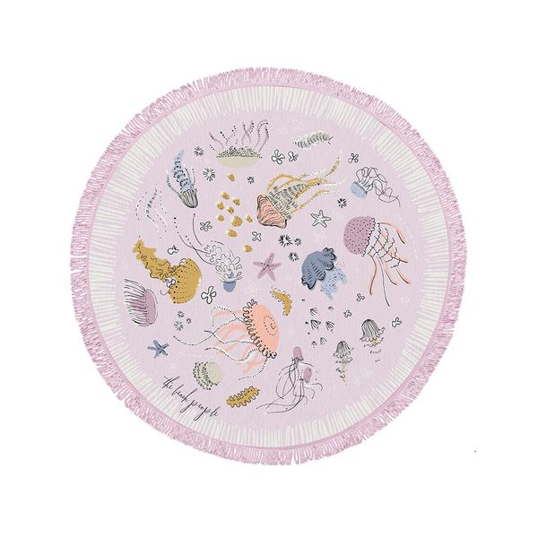 The Beach People Sirene Petite Round Towel