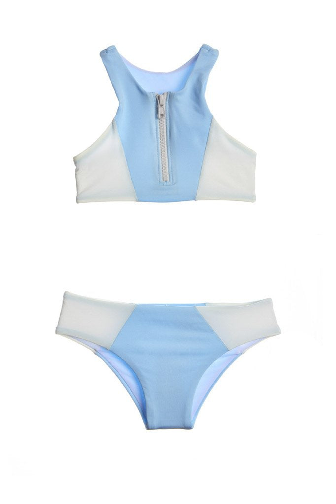 Submarine Swim Mini Zip - Sky
