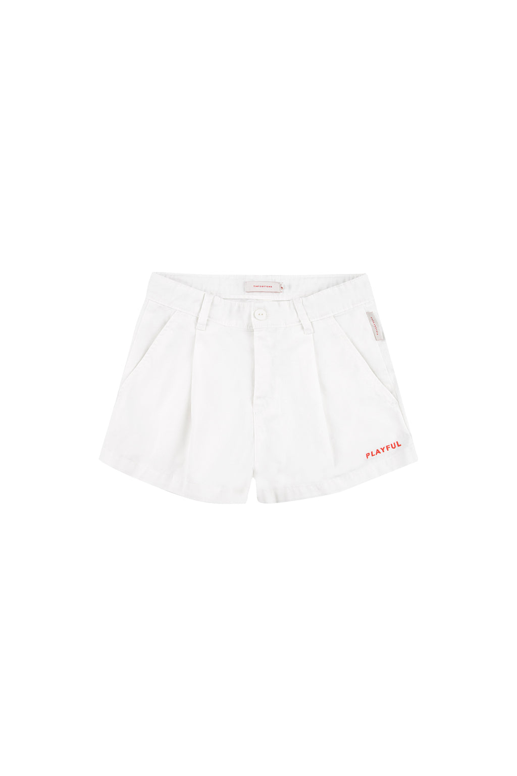 Tiny Cottons Solid Pleat Short