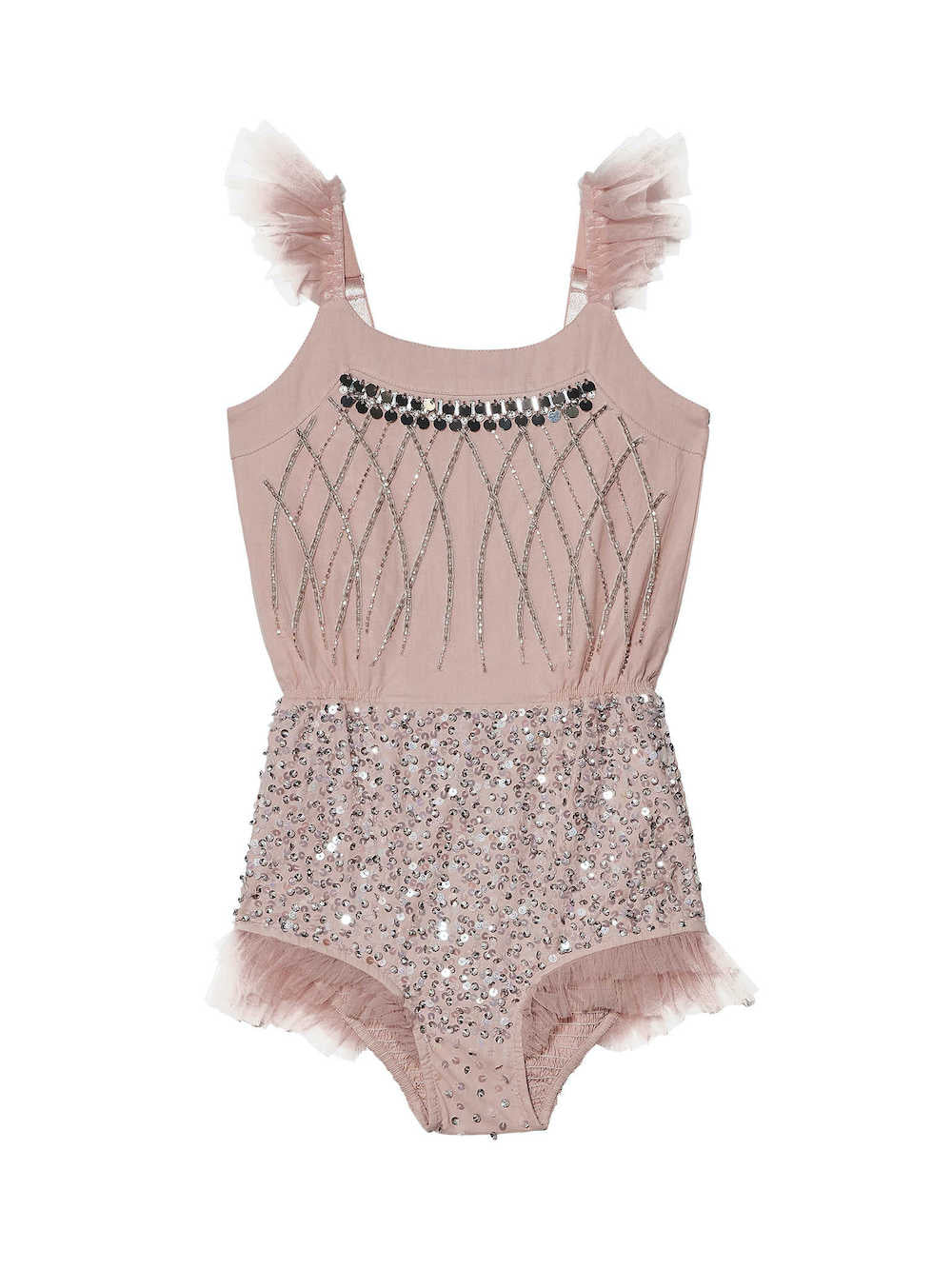 Tutu du Monde Showtime Bodysuit - Blush