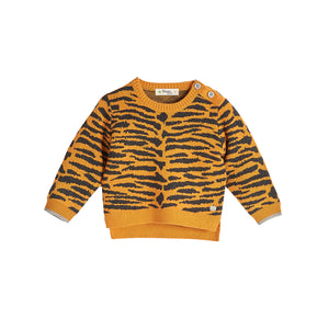 Bonnie Mob Tiger Stripe Sweater