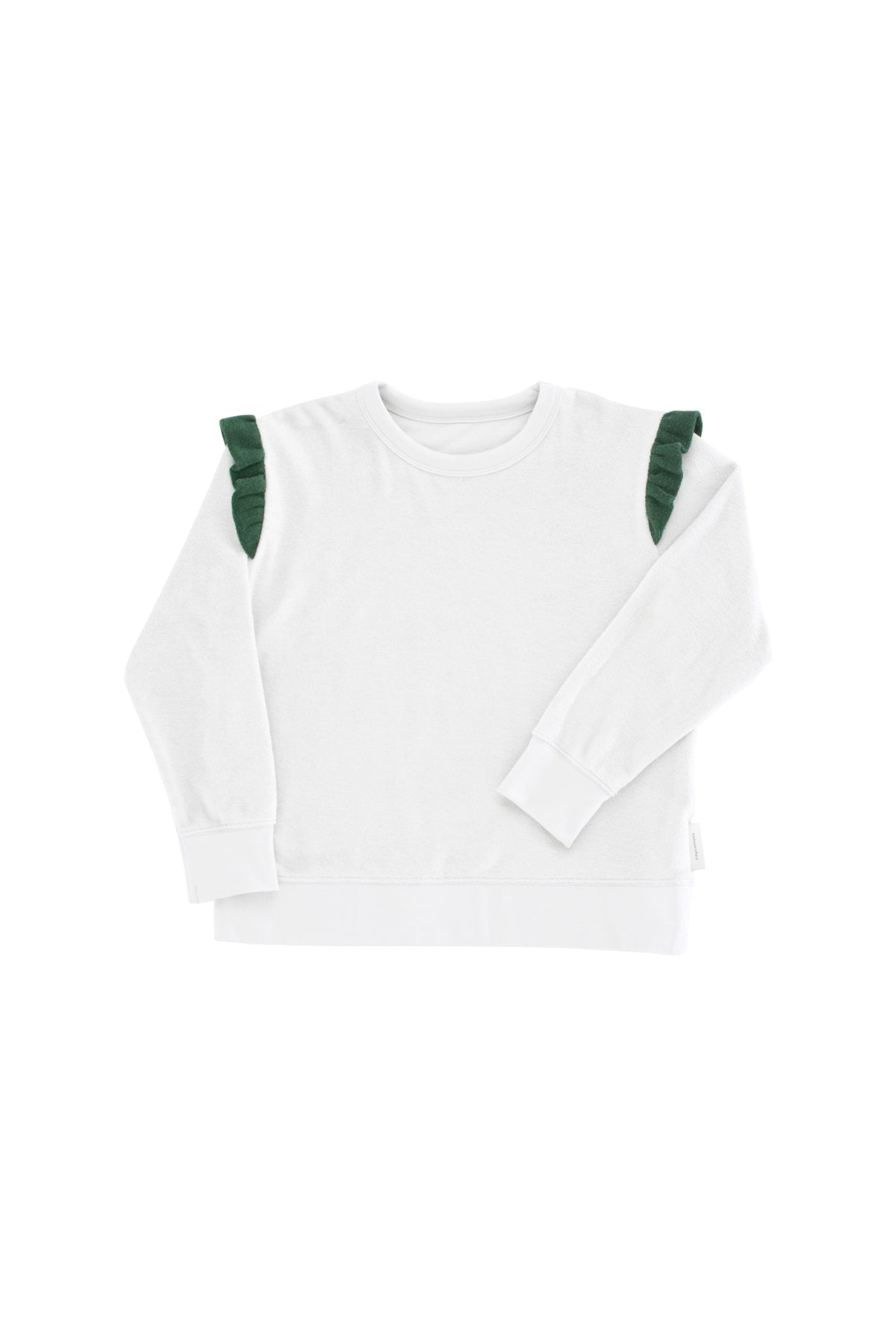 Tiny Cottons Frills Terry Sweatshirt