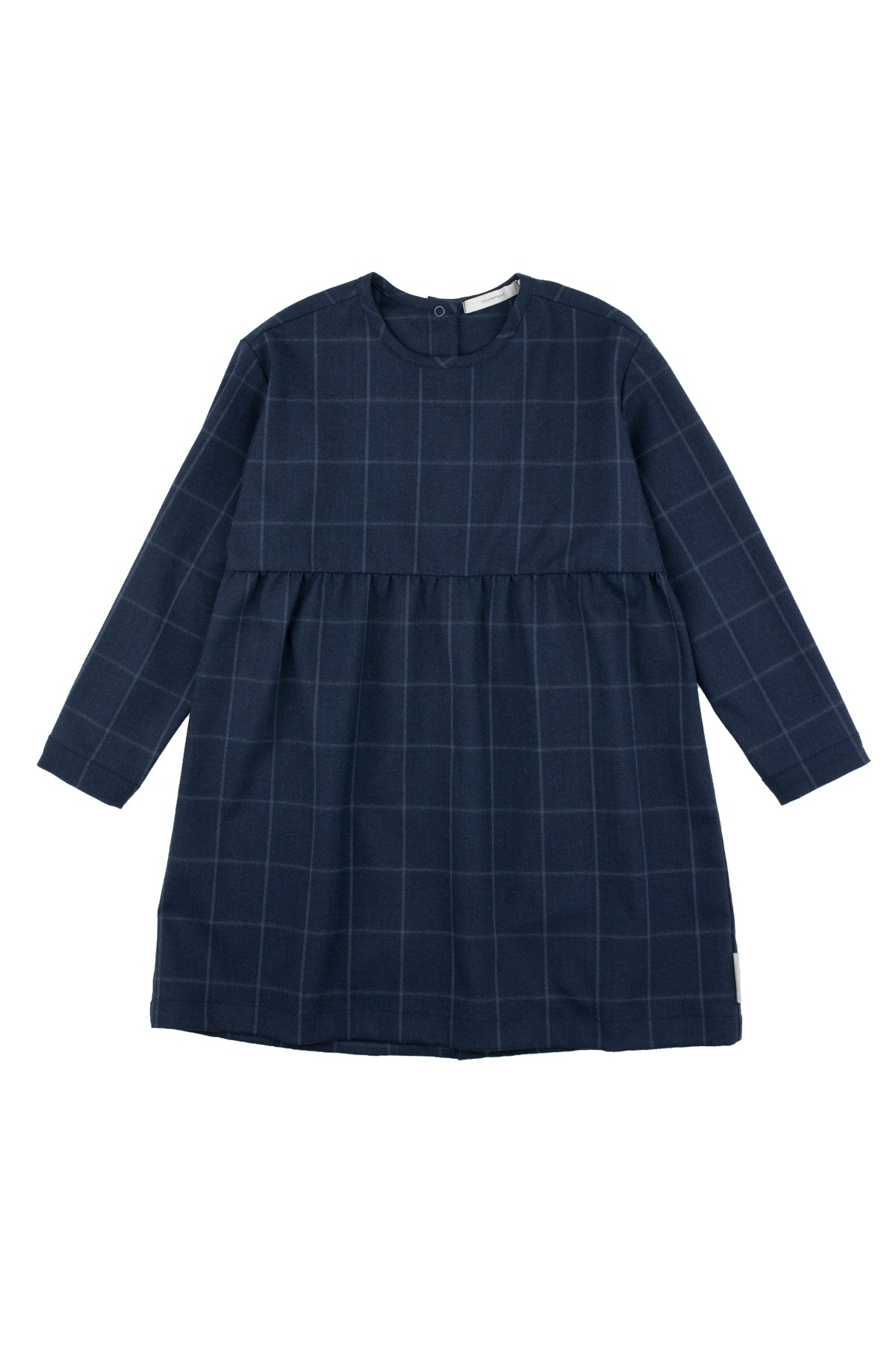 Tiny Cottons Grid Flannel Dress