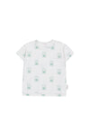 Tiny Cottons Hello Tee - White/Green
