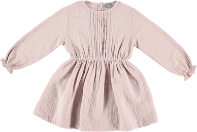 Tocoto Vintage Double Fabric Dress - Pink